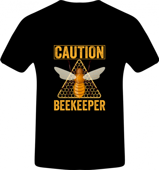 Caution Beekeeper